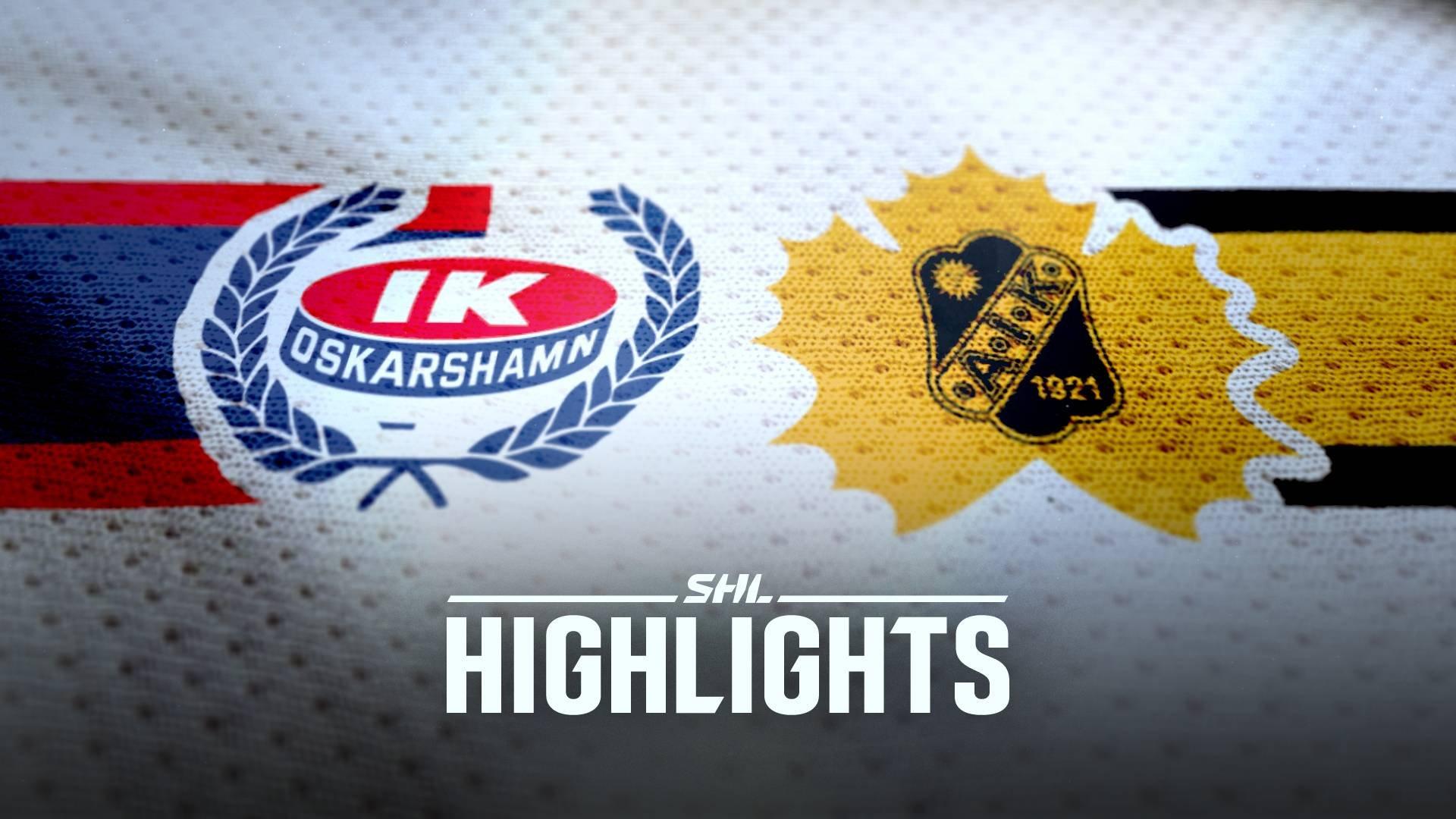 IK Oskarshamn - Skellefteå AIK