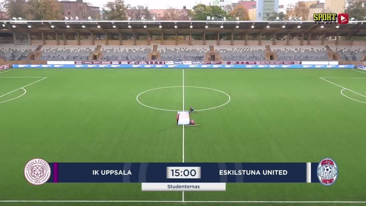 Highlights: Uppsala - Eskilstuna 4 okt