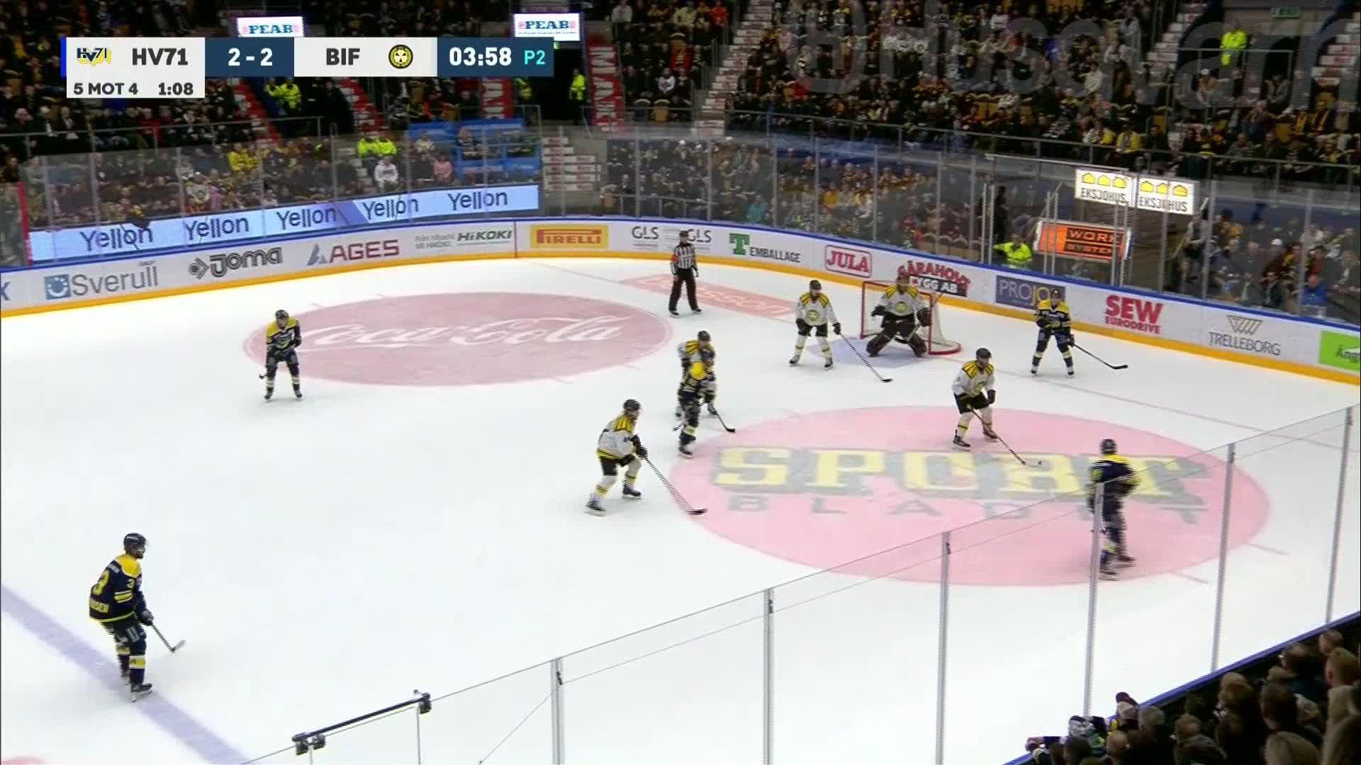 HV71 - Brynäs IF 3-2
