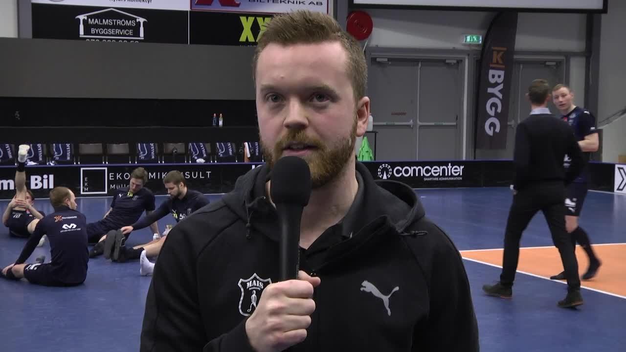 Johan Nygårdh efter kvartsfinal 5