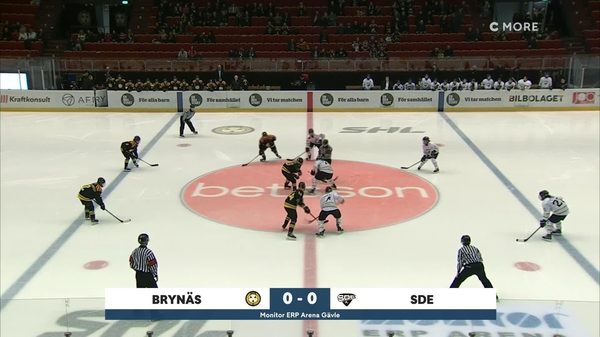 Highlights Kvartsfinal 2:3: Brynäs-SDE 22 februari