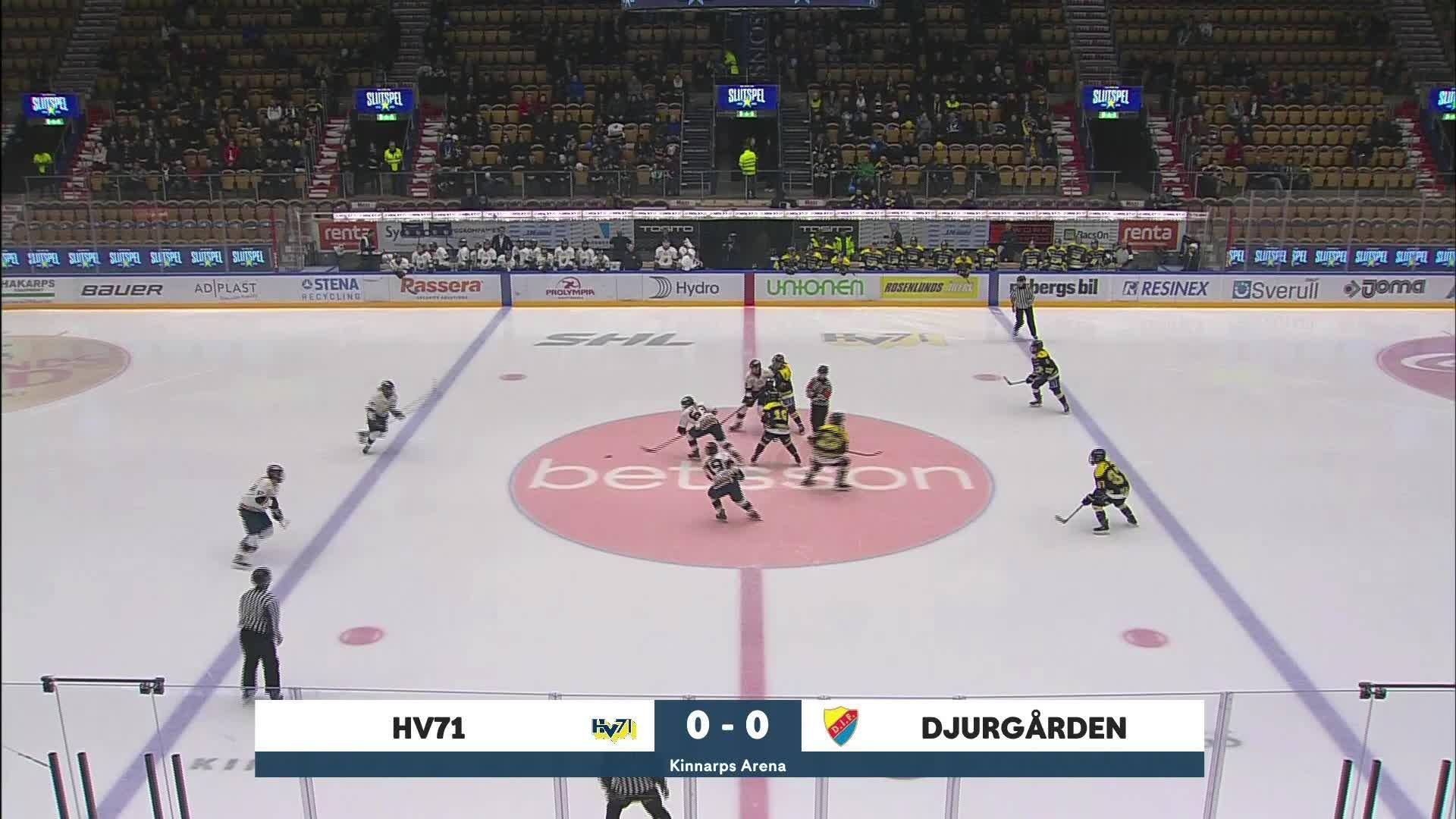 Highlights Semifinal 2:5: HV71-Djurgården 29 februari