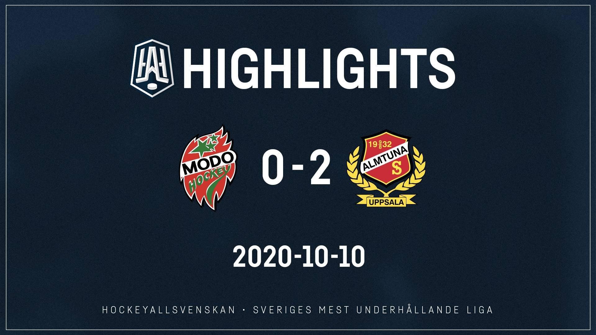 2020-10-10 MODO - Almtuna 0-2