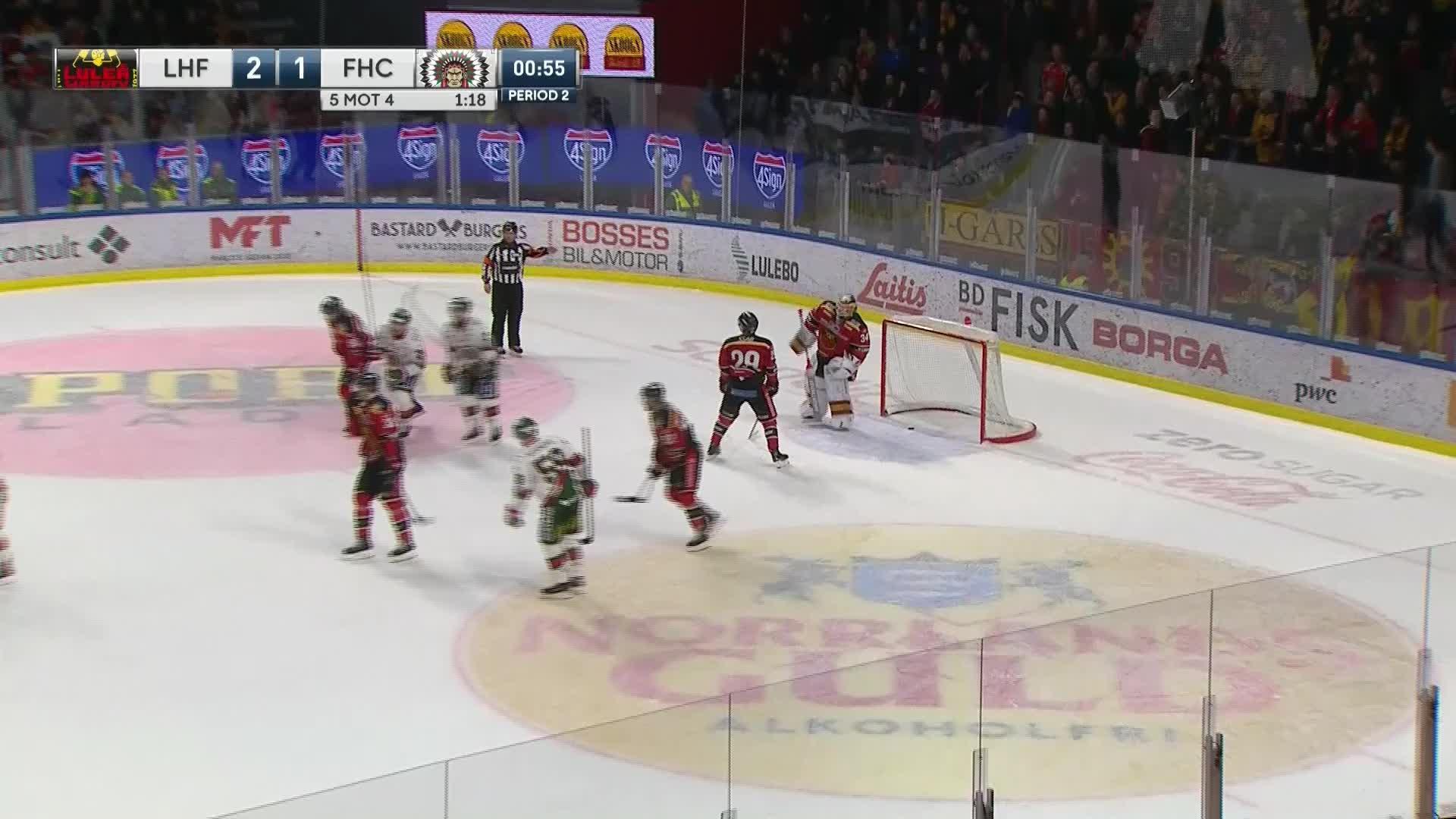 Luleå Hockey - Frölunda HC 2-1
