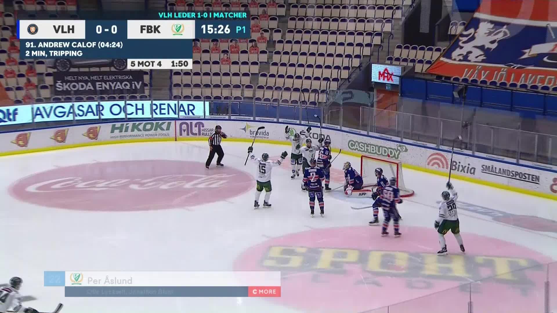 Växjö Lakers - Färjestad BK 0-1