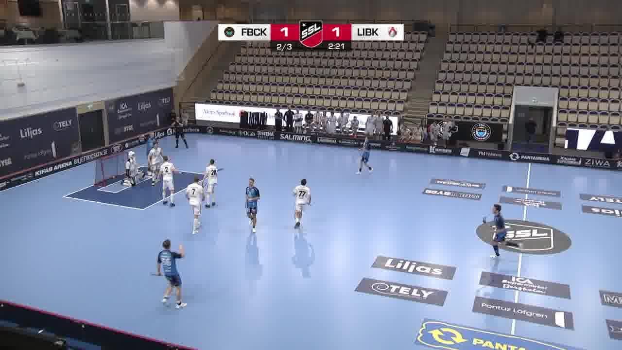 Highlights: FBC Kalmarsund - Linköping Innebandy