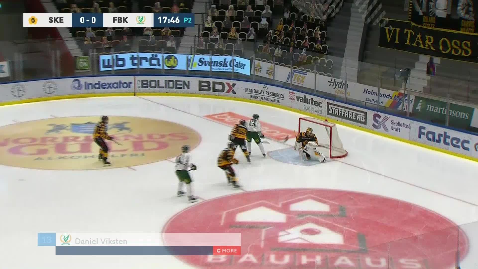 Skellefteå AIK - Färjestad BK 0-1
