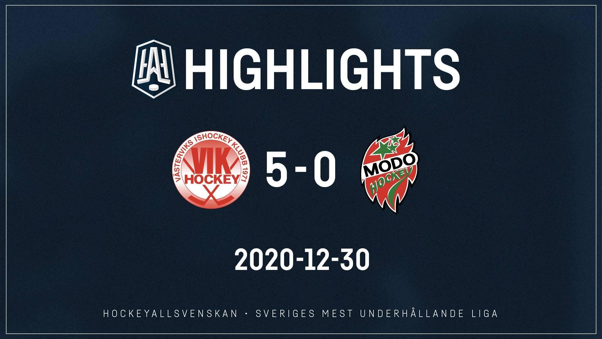2020-12-30 Västervik - MODO 5-0
