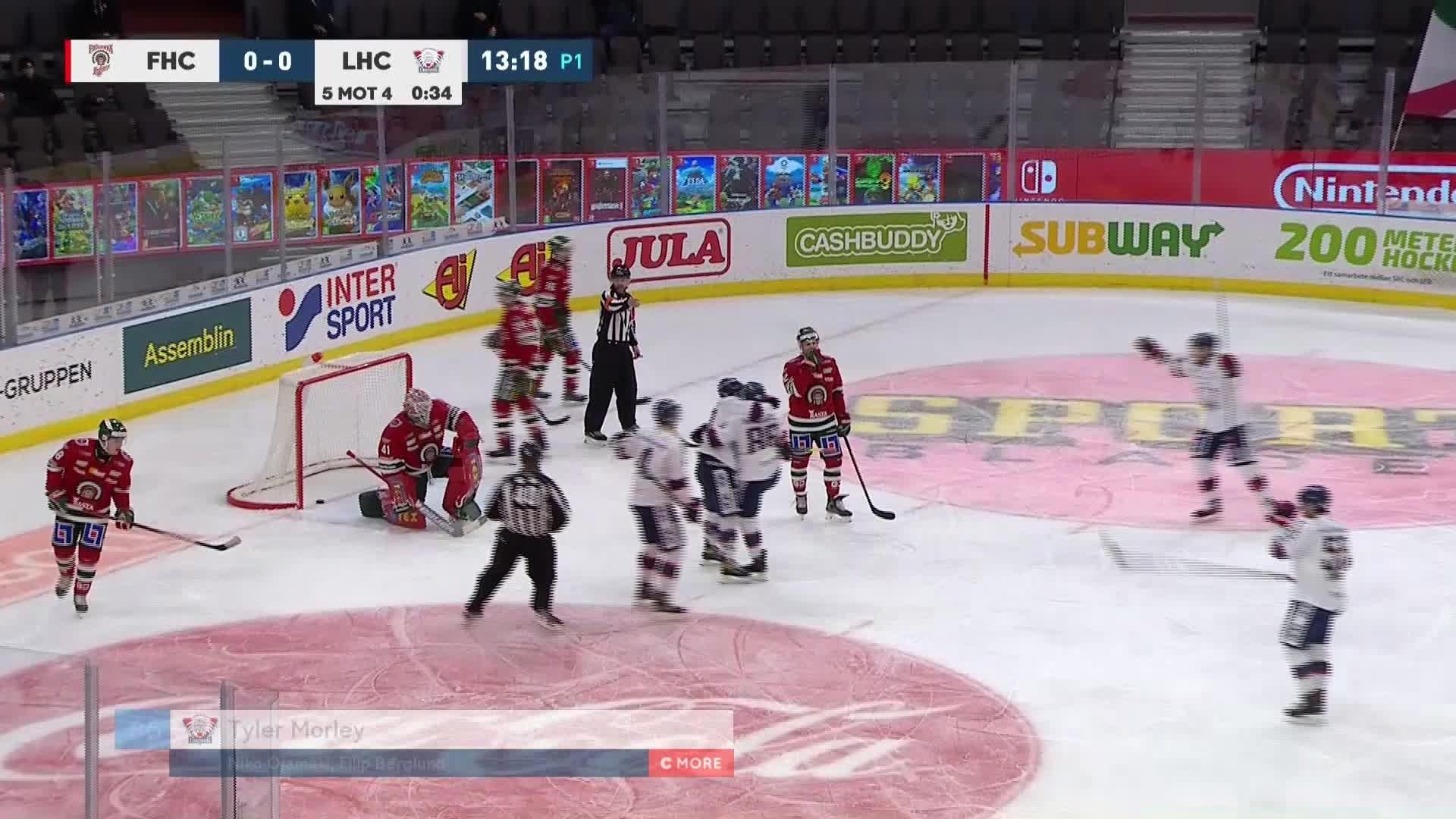 Frölunda HC - Linköping HC 0-1