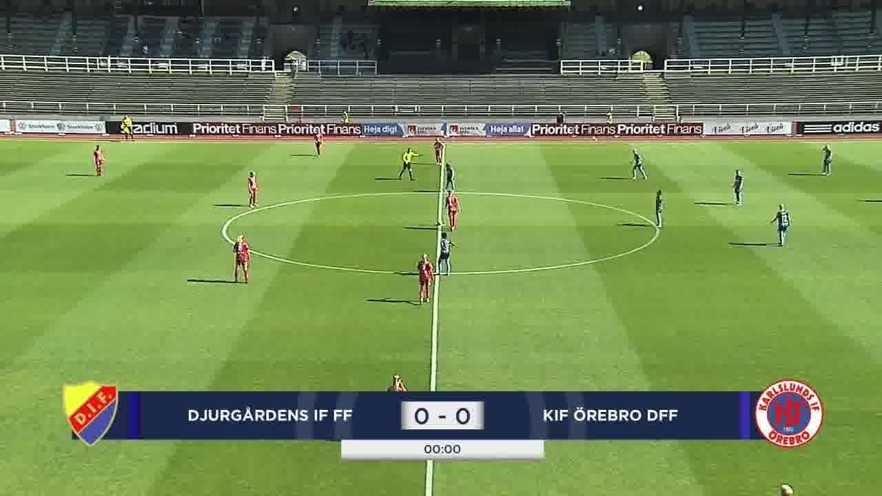 Highlights: Djurgården – Örebro 8 aug