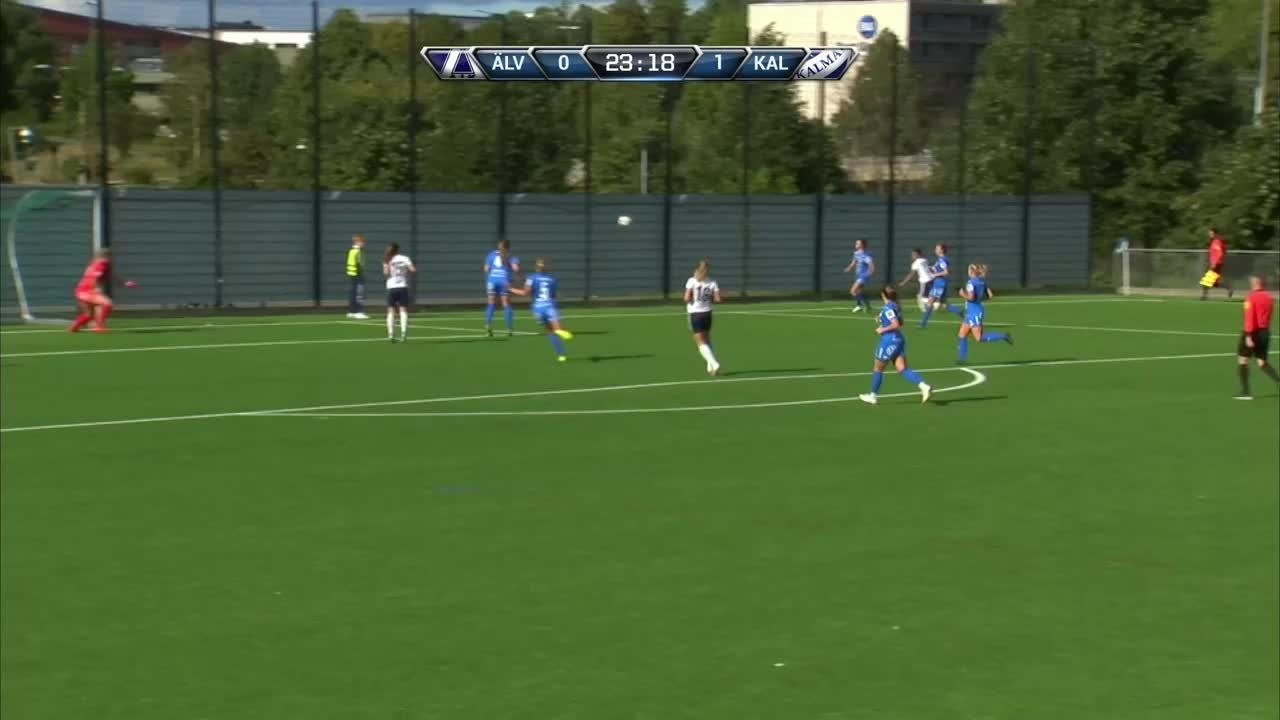 Highlights: Älvsjö AIK FF-IFK Kalmar
