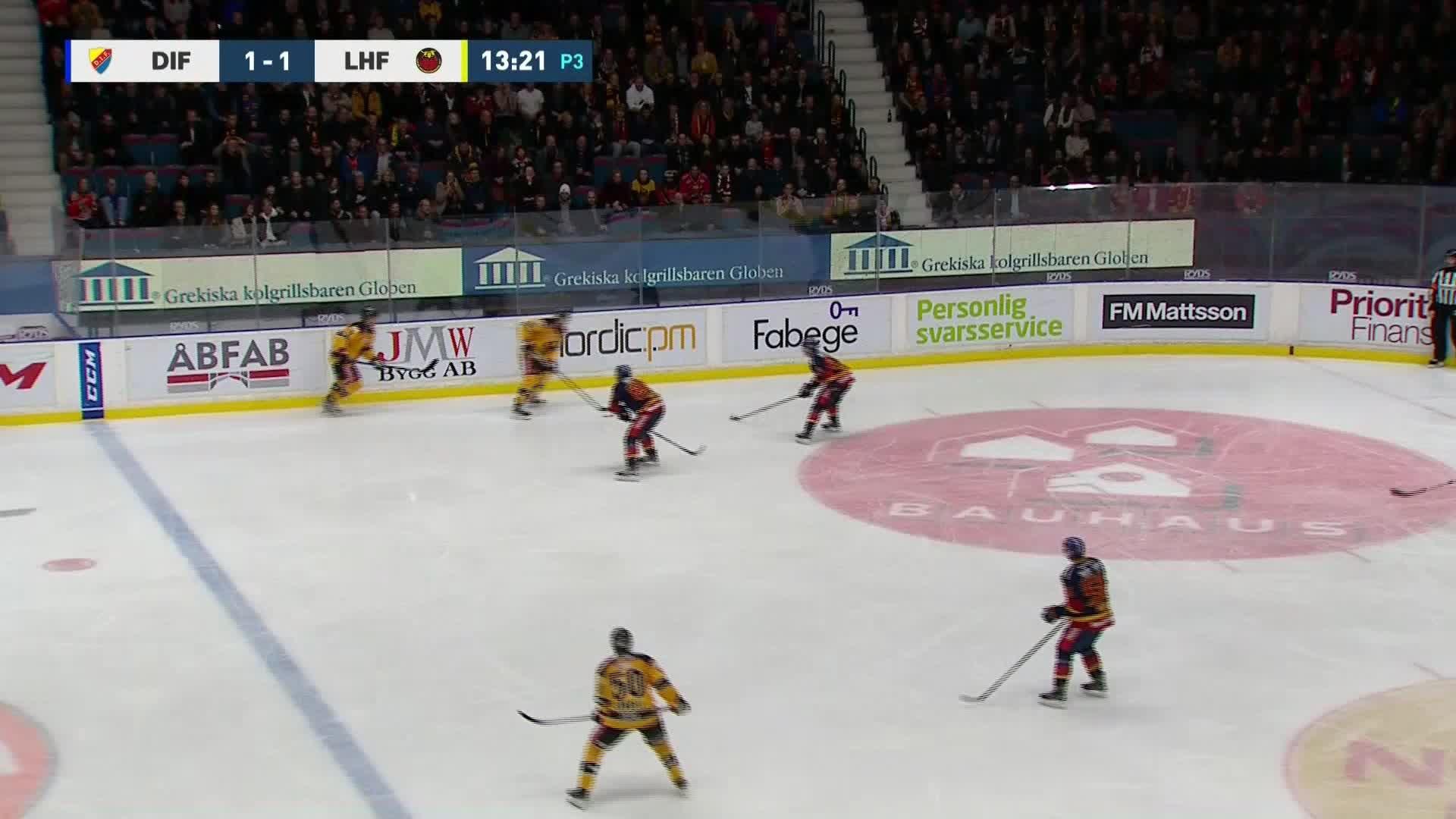 Djurgården Hockey - Luleå Hockey 1-2