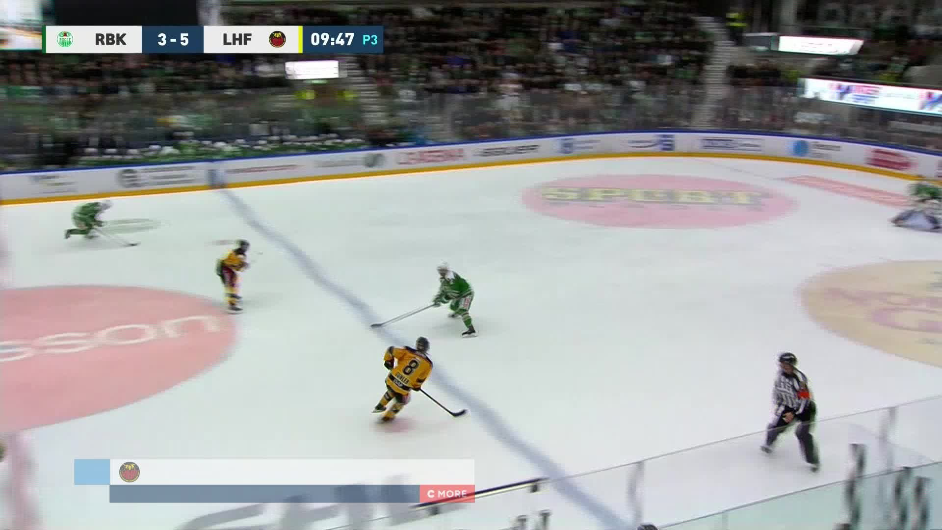 Rögle BK - Luleå Hockey 3-6
