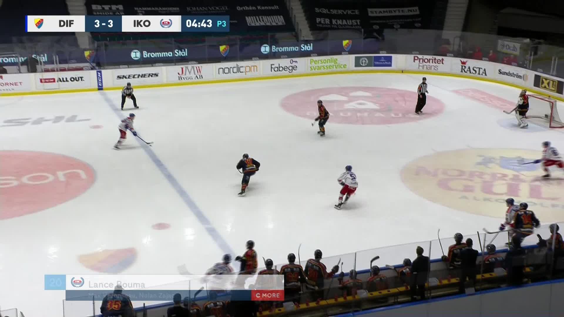 Djurgården Hockey - IK Oskarshamn 3-4
