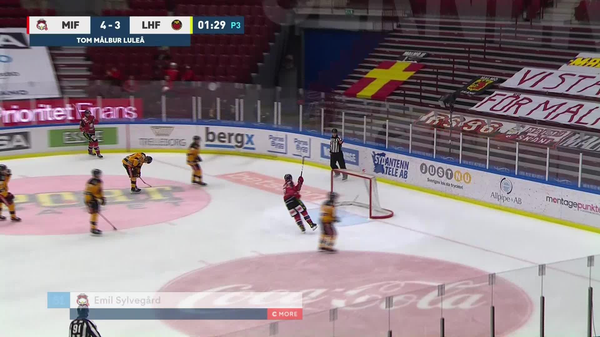 Malmö Redhawks - Luleå Hockey 5-3