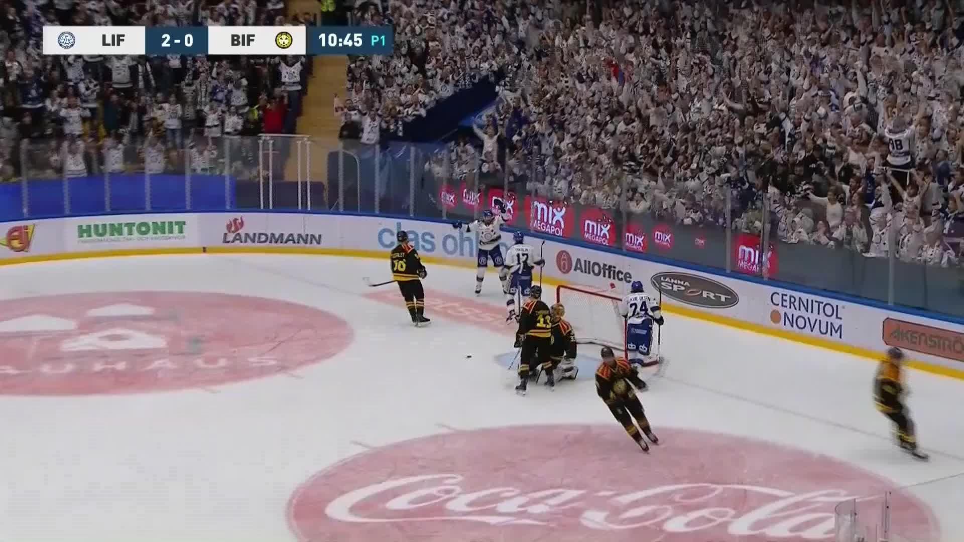 Leksands IF - Brynäs IF 3-0