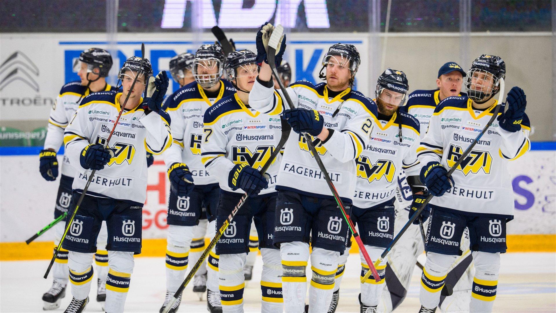 HV71 firar sin seger mot Rögle.