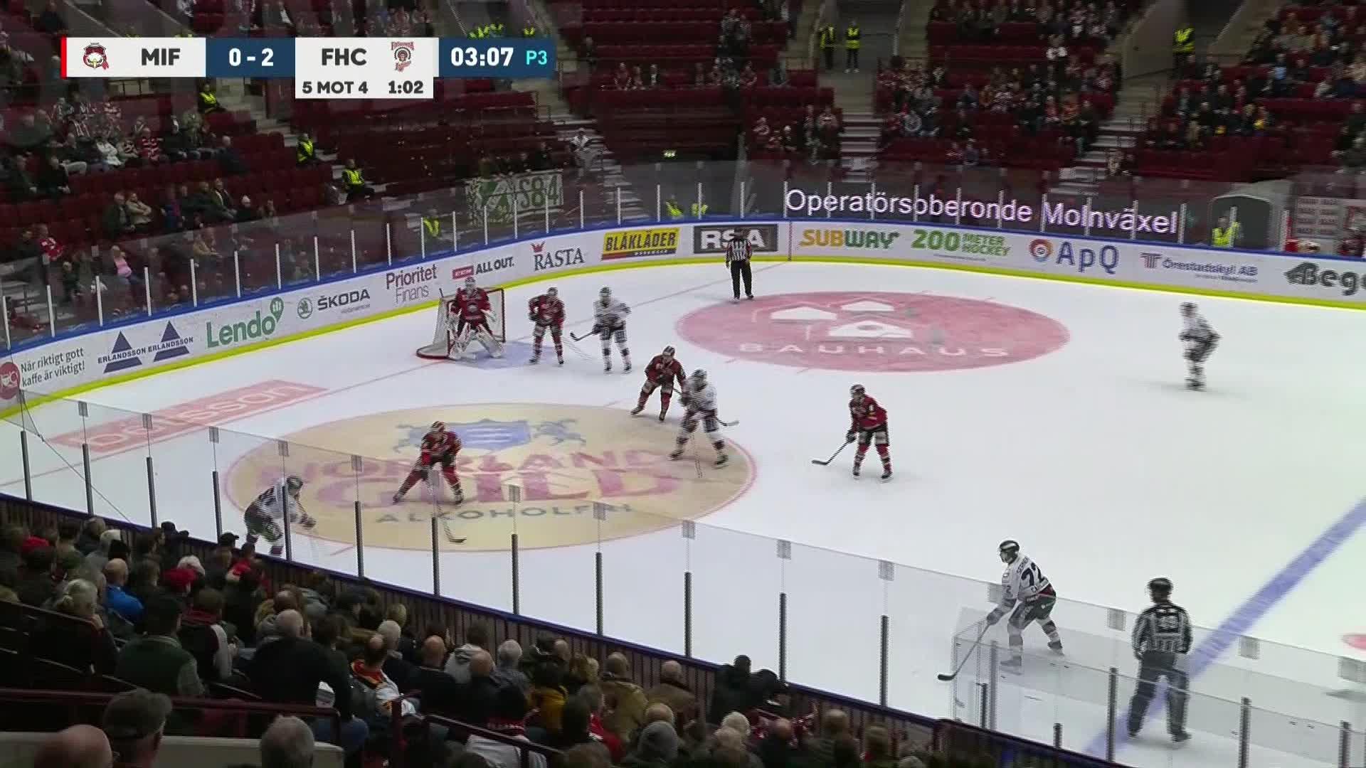 Malmö Redhawks - Frölunda HC 0-3