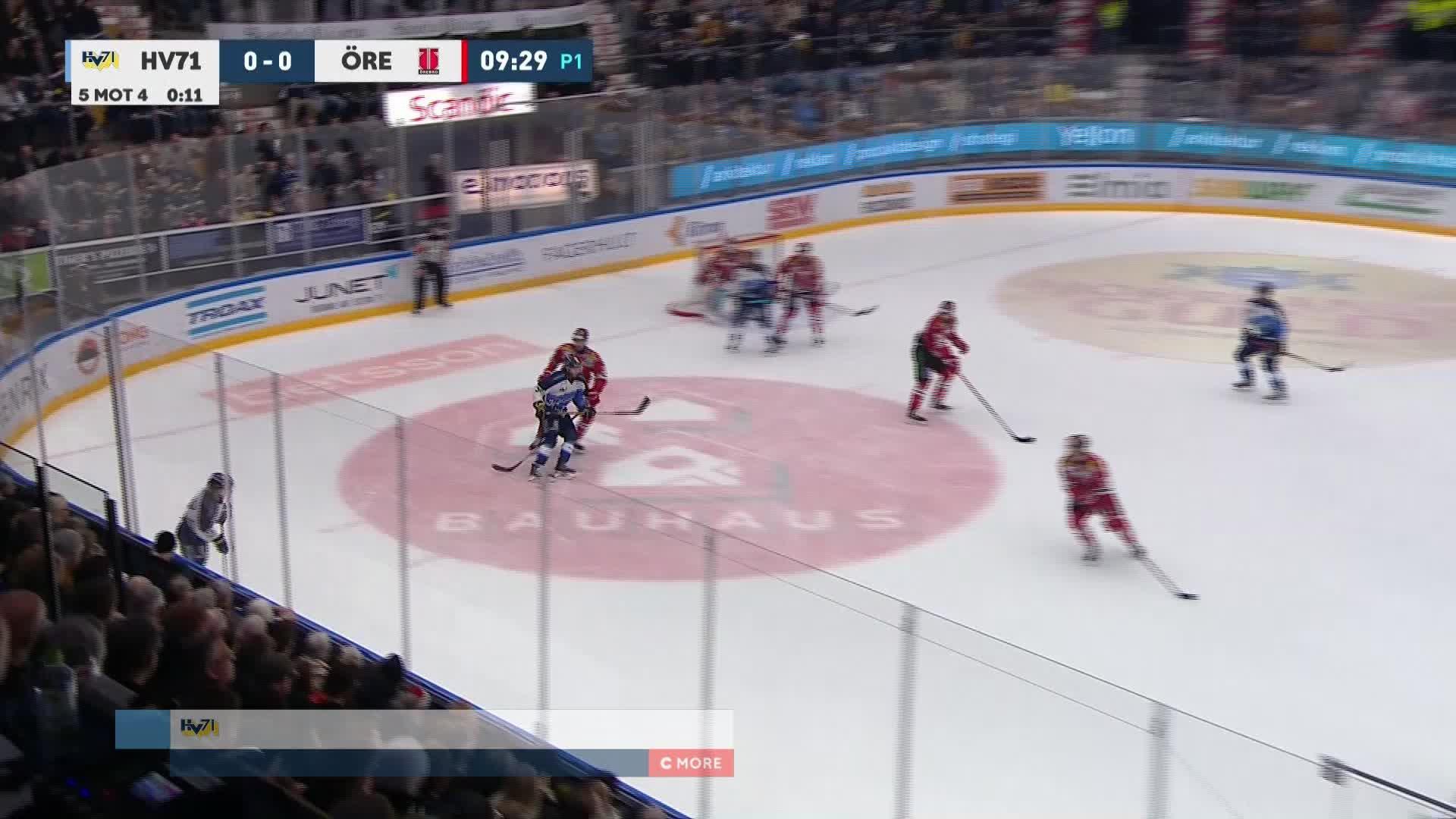 HV71 - Örebro Hockey 1-0