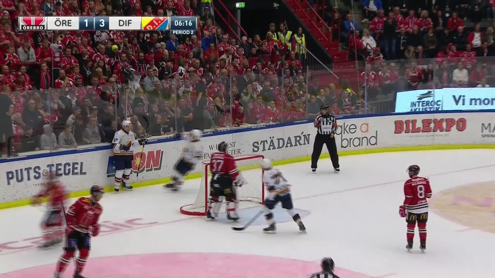 Örebro Hockey - Djurgården Hockey 1-3