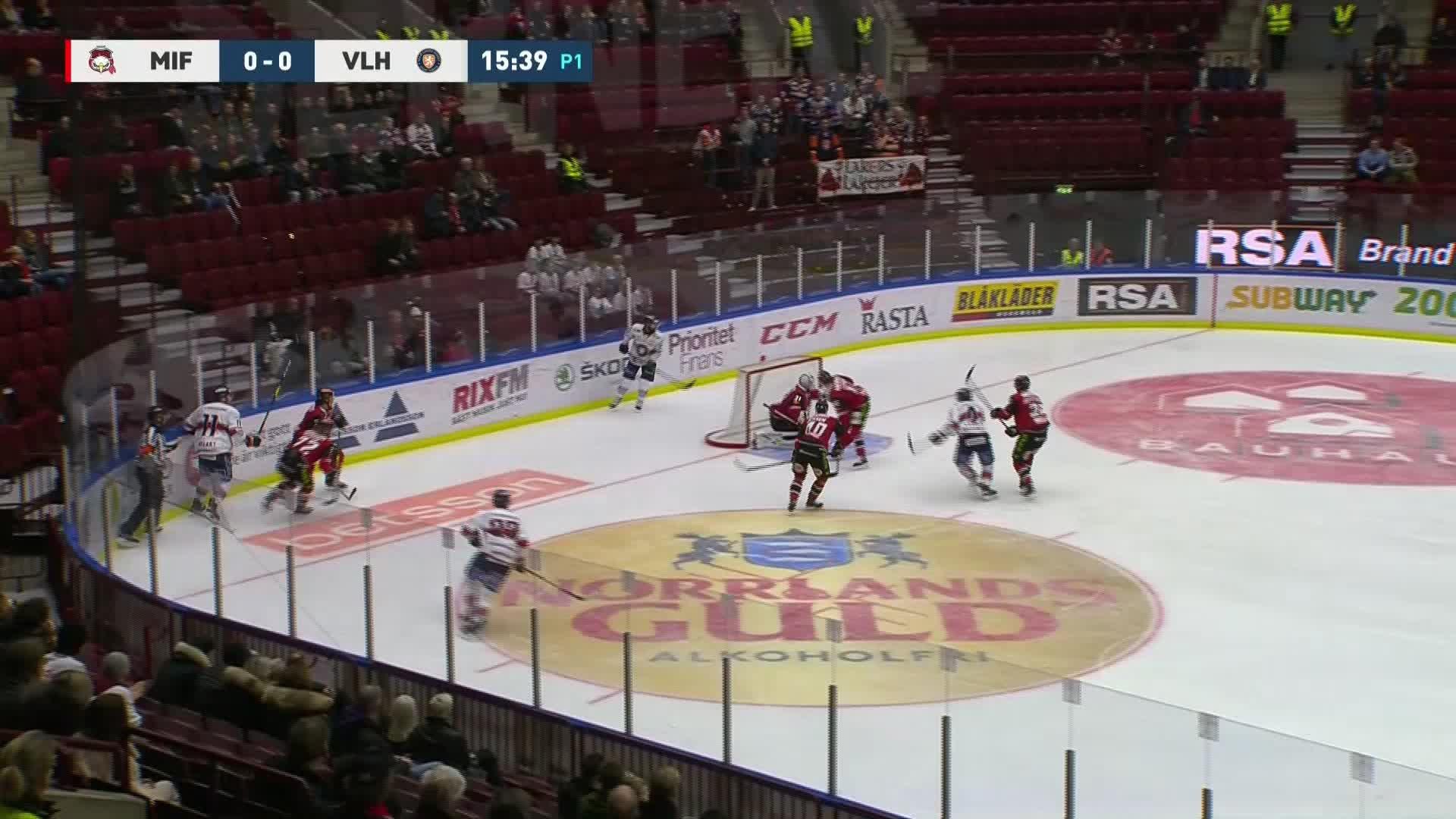 Malmö Redhawks - Växjö Lakers 0-1