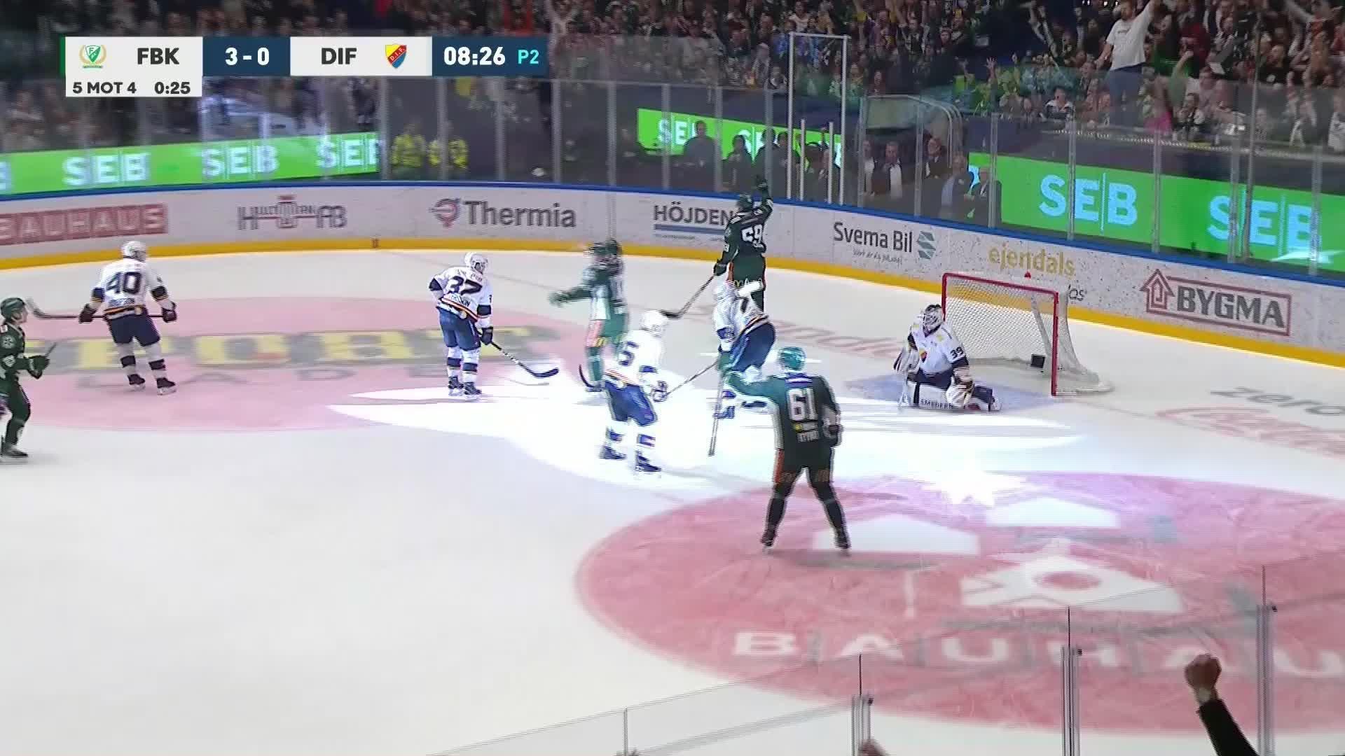Färjestad BK - Djurgården Hockey 4-0