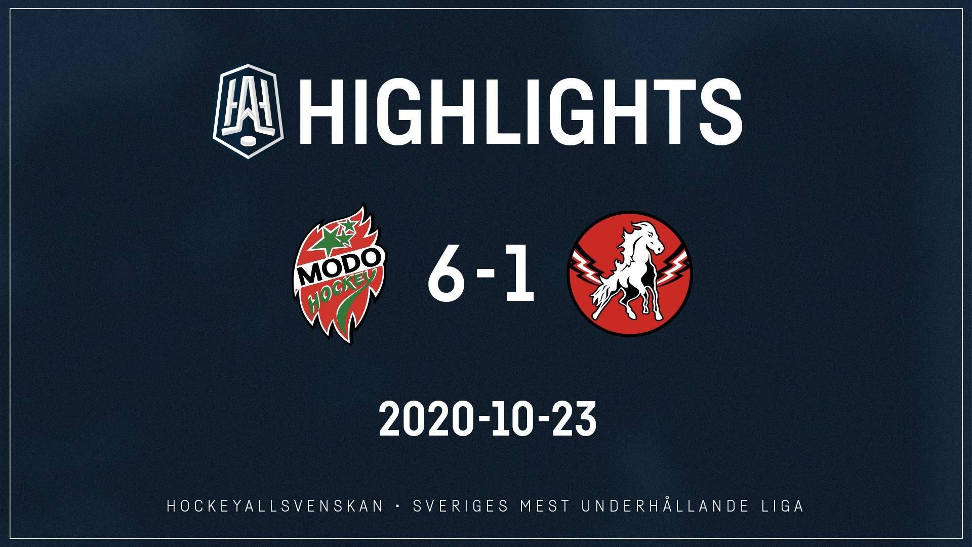 2020-10-23 MODO - Vita Hästen 6-1