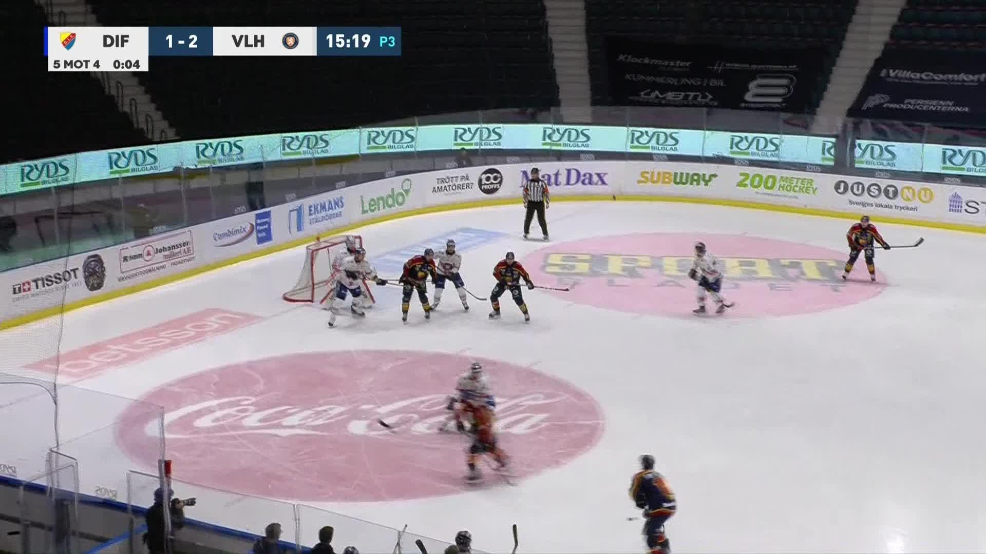 Djurgården Hockey - Växjö Lakers 2-2