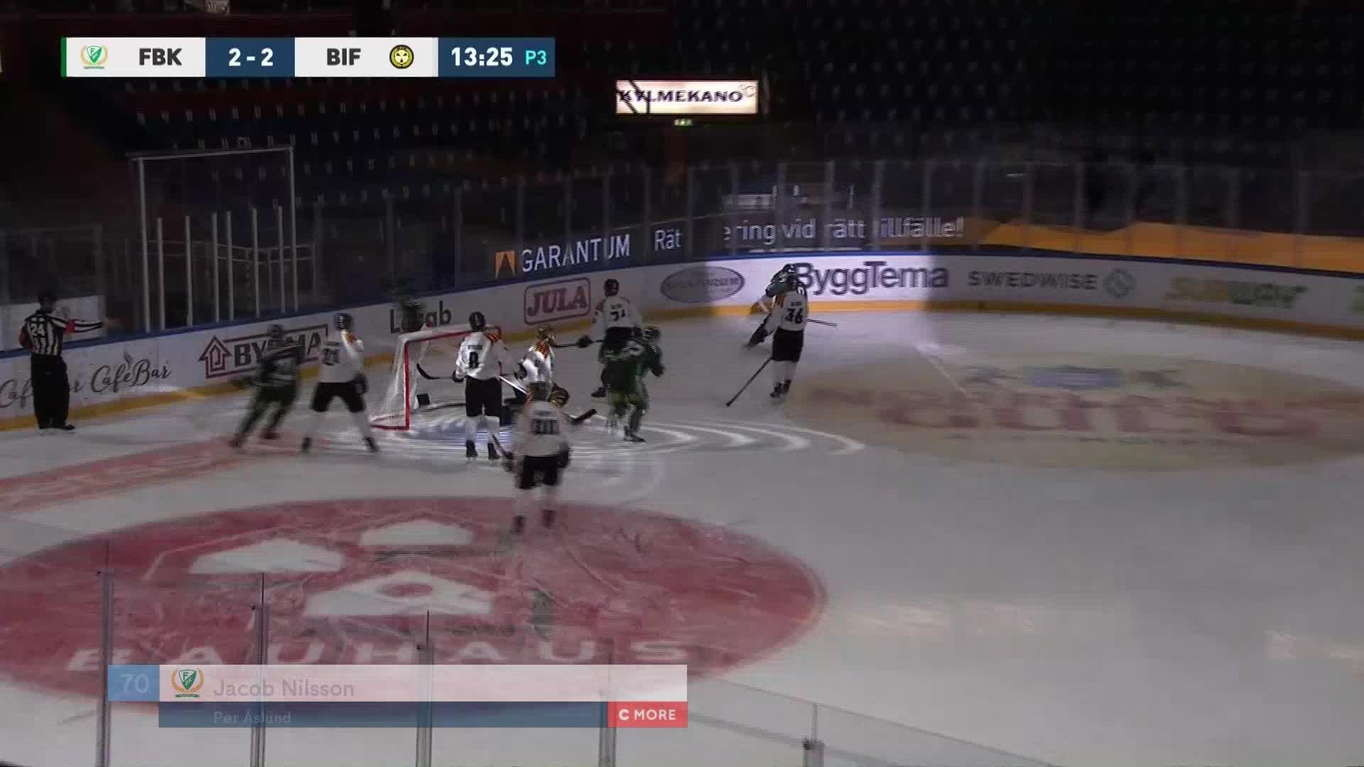 Färjestad BK - Brynäs IF 2-2