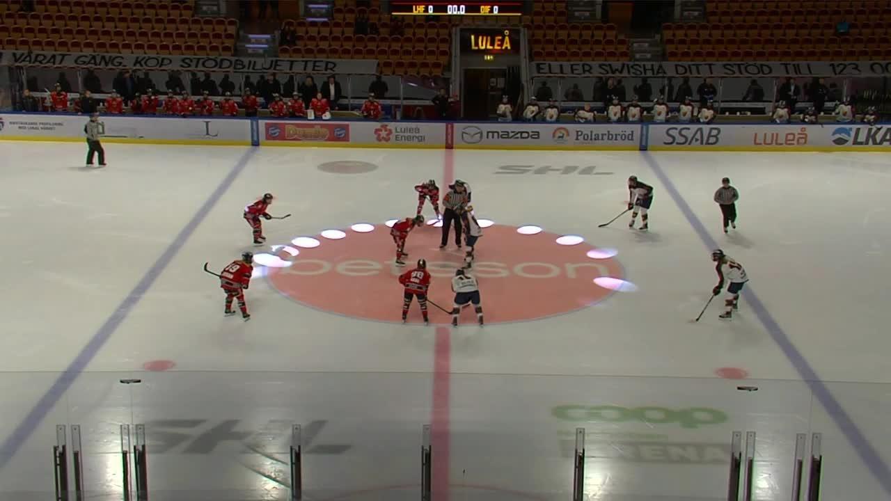 Highlights: Luleå-Djurgården 19 sept