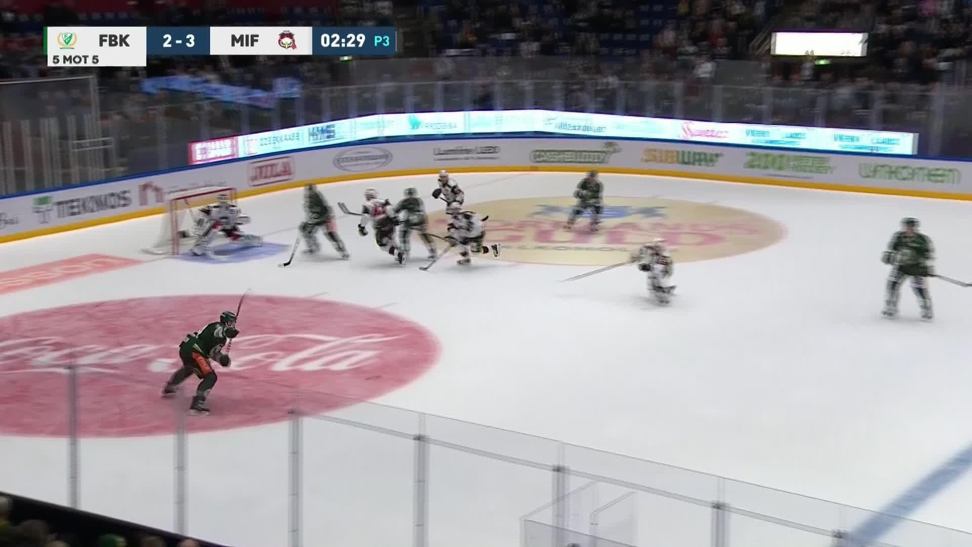 Färjestad BK - Malmö Redhawks 3-3