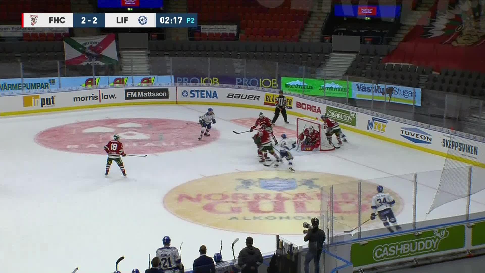 Frölunda HC - Leksands IF 3-2