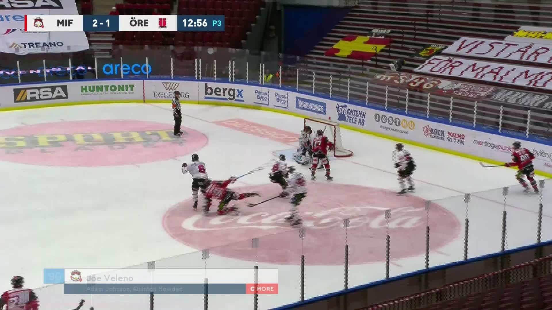 Malmö Redhawks - Örebro Hockey 3-1