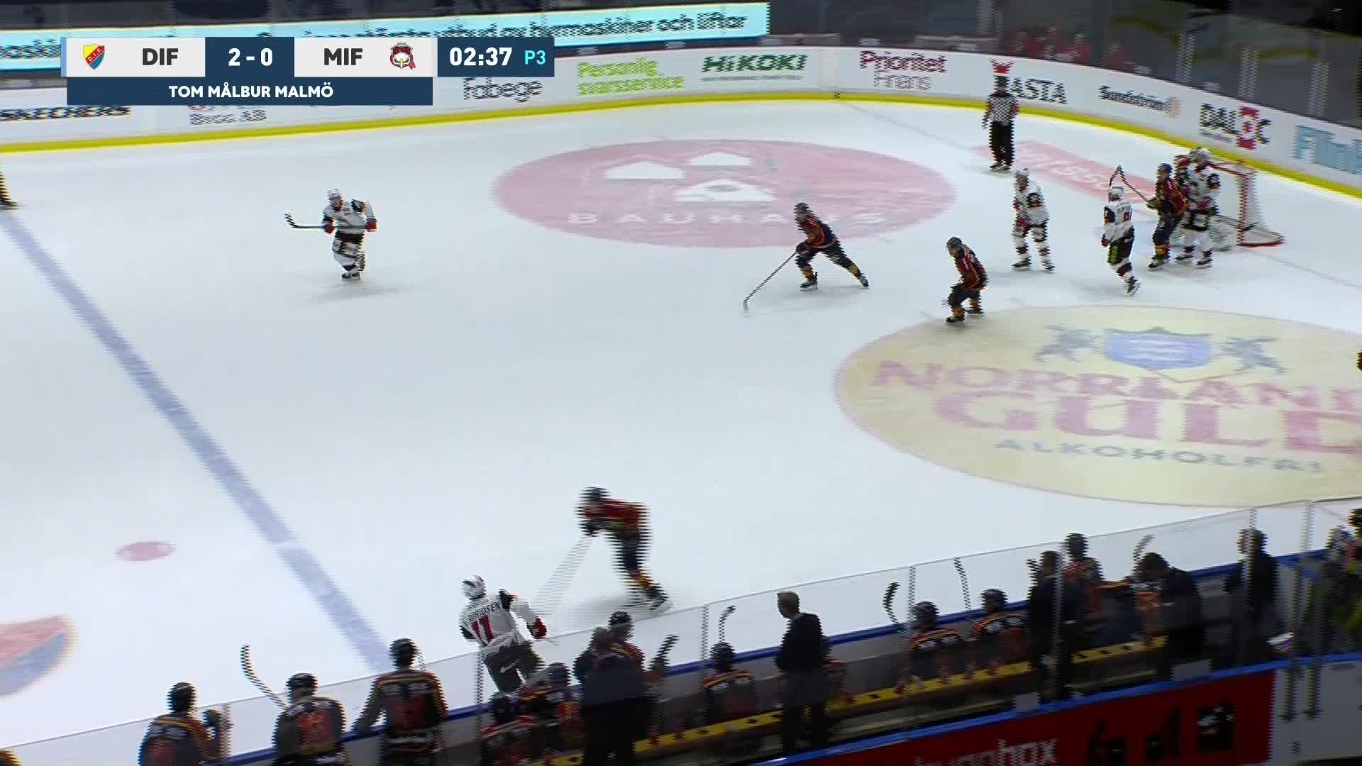 Djurgården Hockey - Malmö Redhawks 3-0