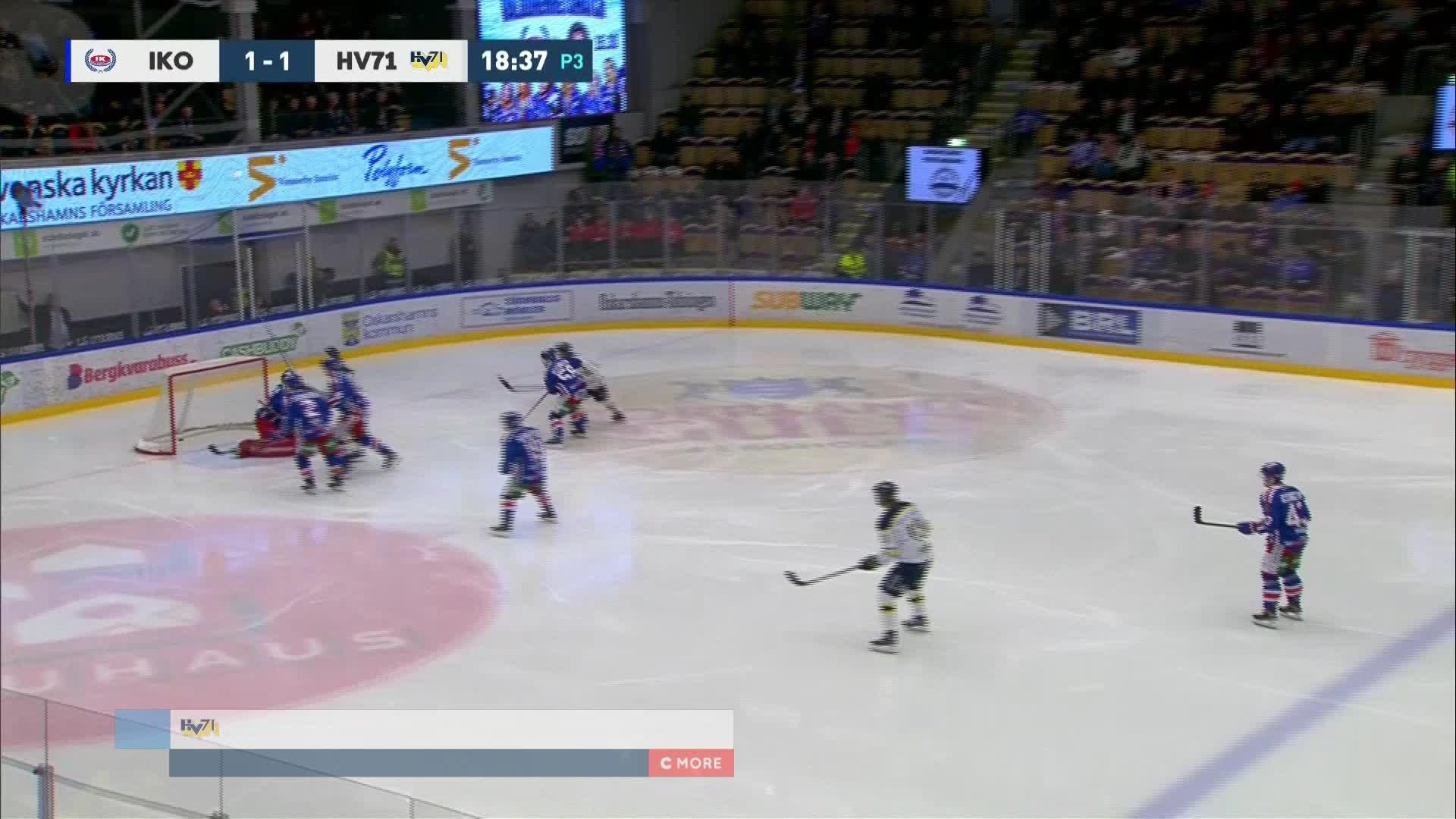IK Oskarshamn - HV71 1-2