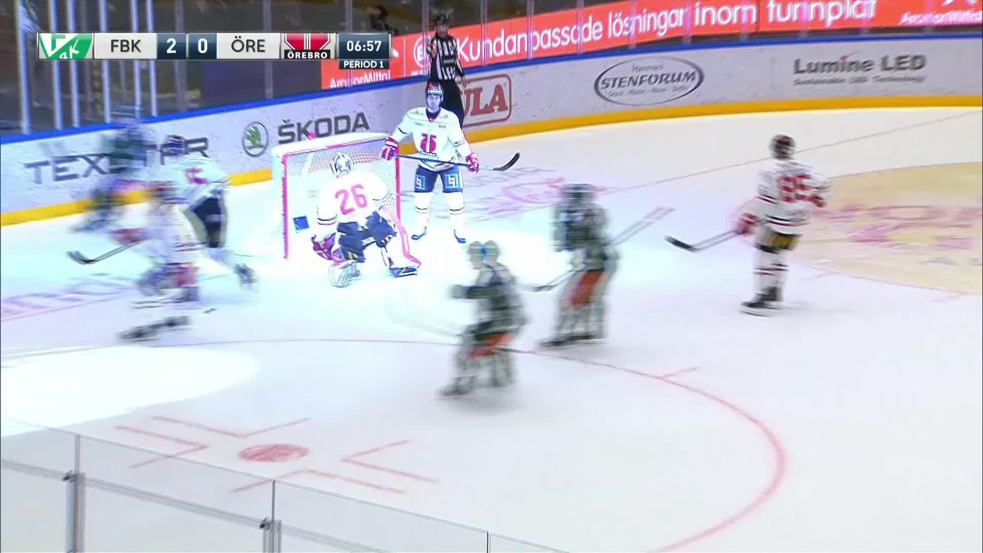 Färjestad BK - Örebro Hockey 3-0