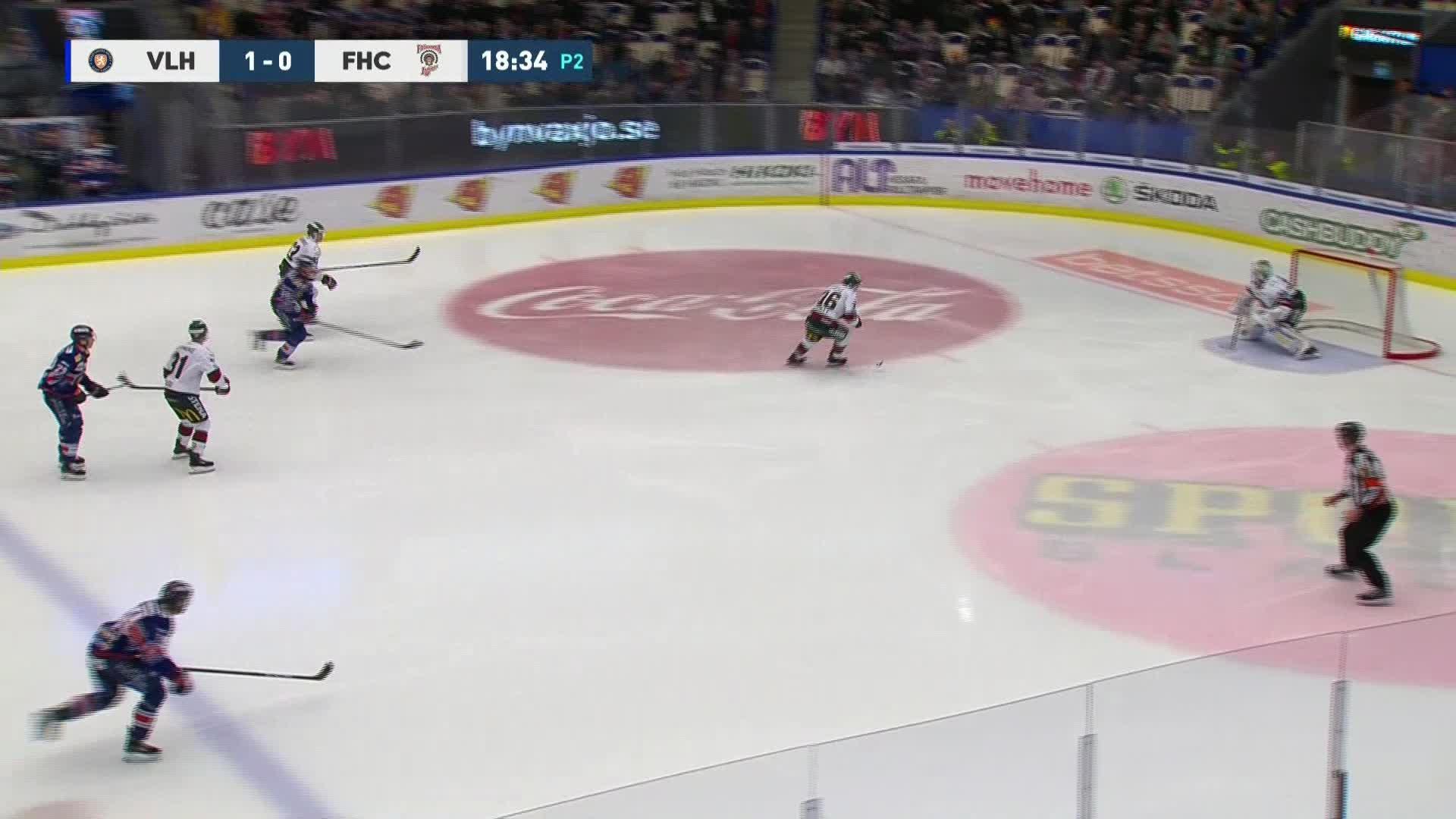 Växjö Lakers - Frölunda HC 2-0