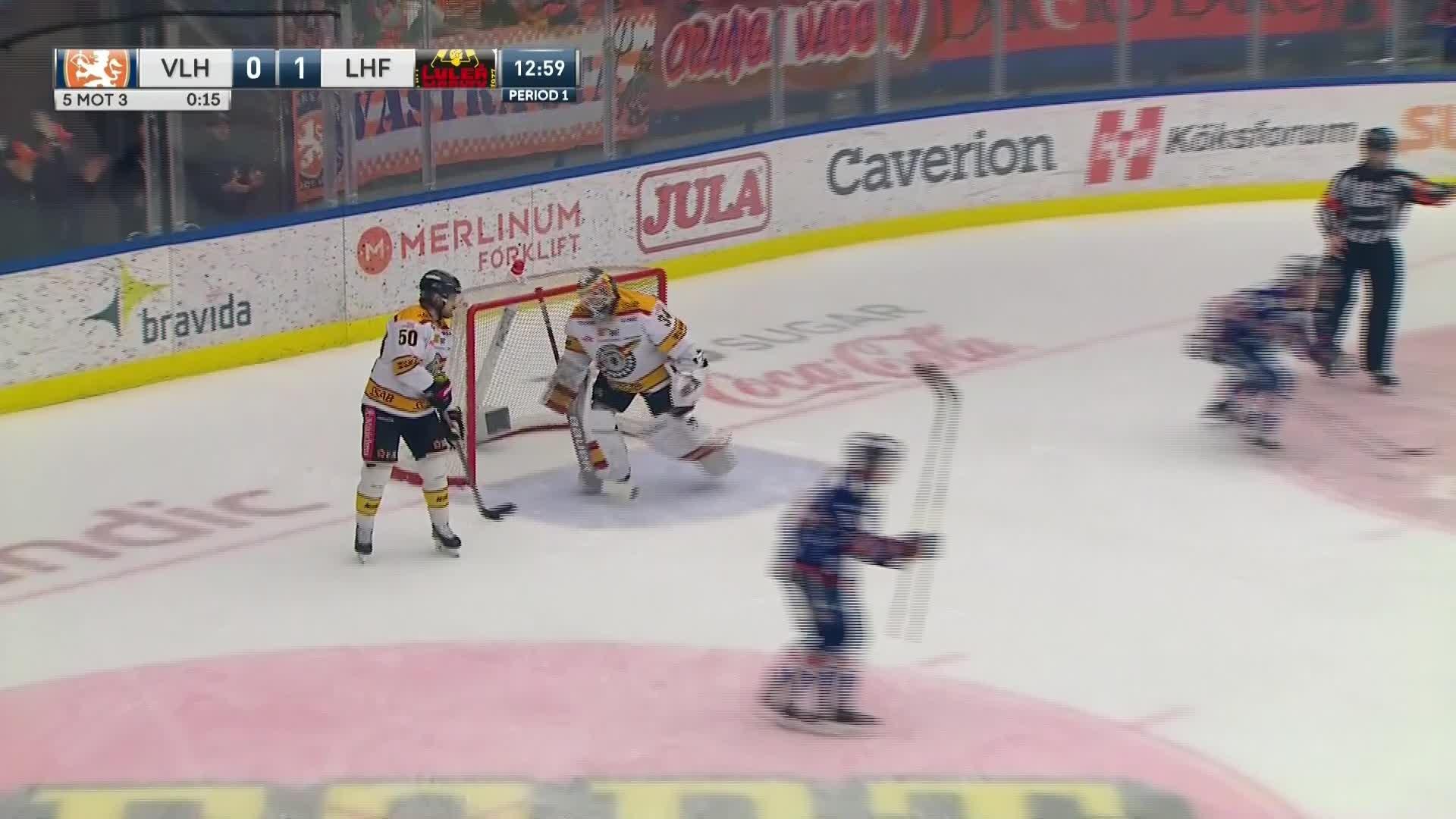 Växjö Lakers - Luleå Hockey 1-1
