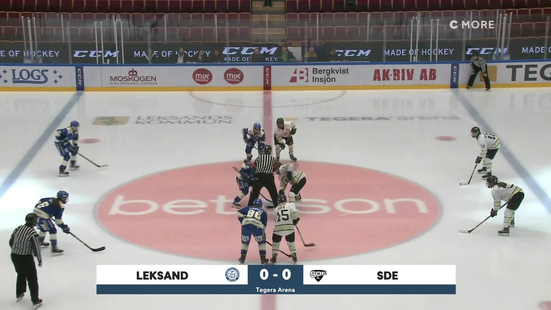 Highlights Leksand-SDE 15 februari