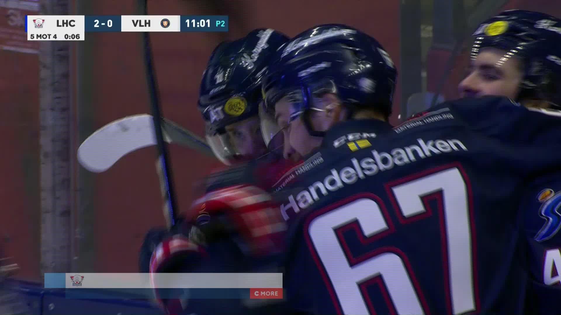 Linköping HC - Växjö Lakers 2-0