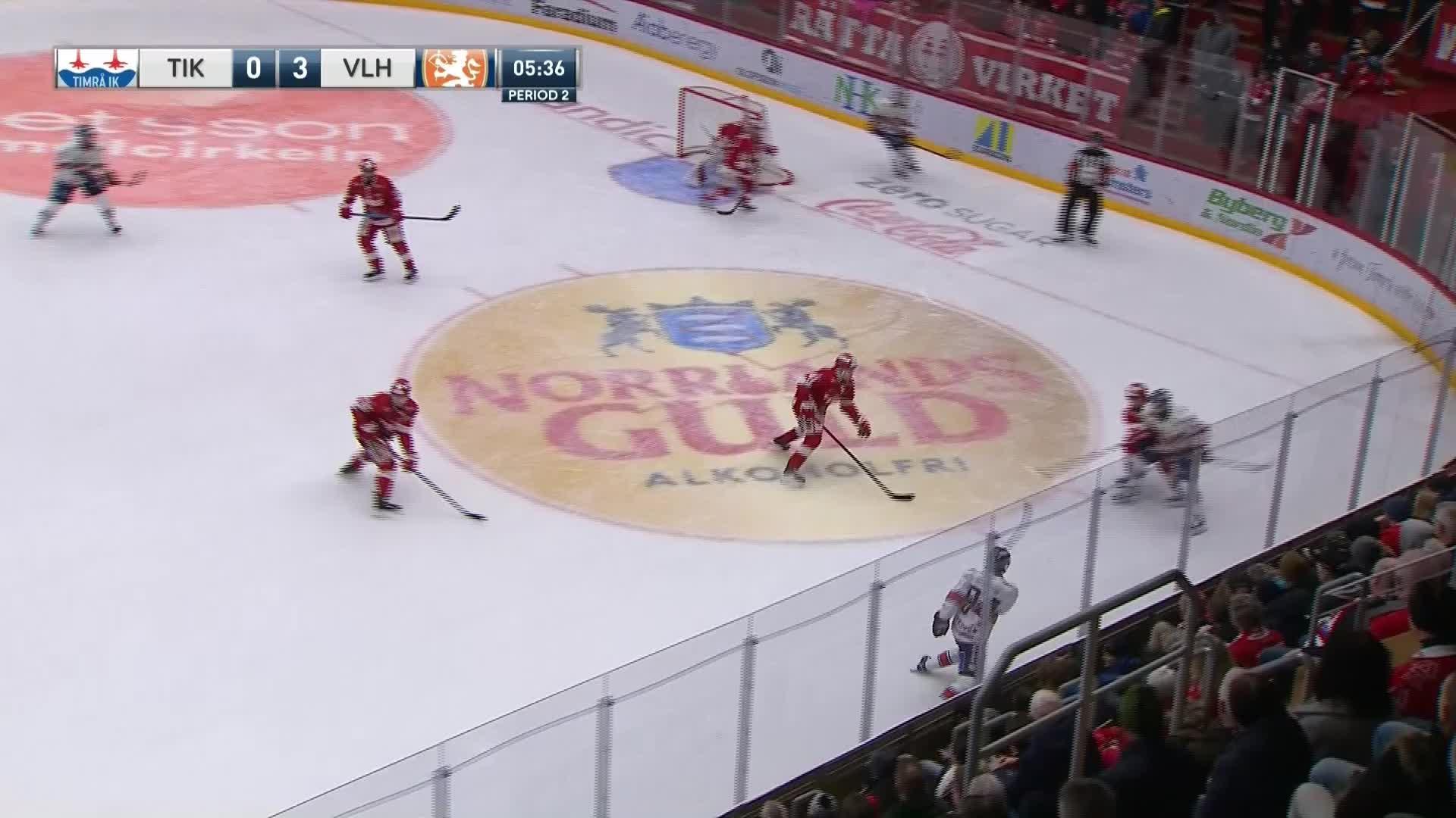 Timrå IK - Växjö Lakers 0-4