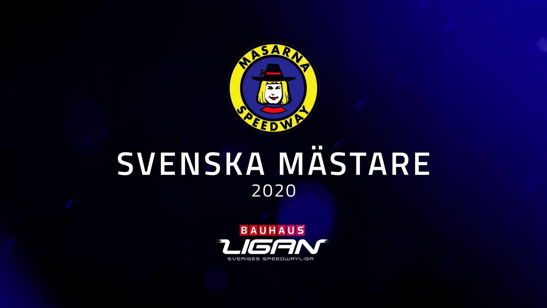 Masarna SM-guld 2020
