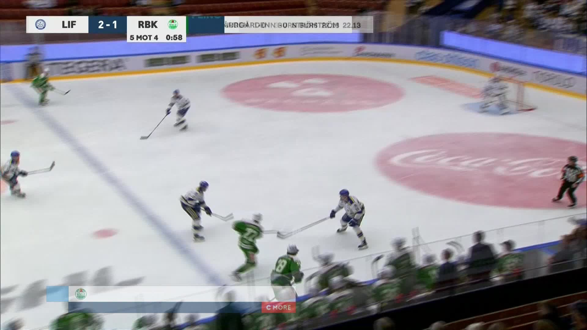 Leksands IF - Rögle BK 2-2