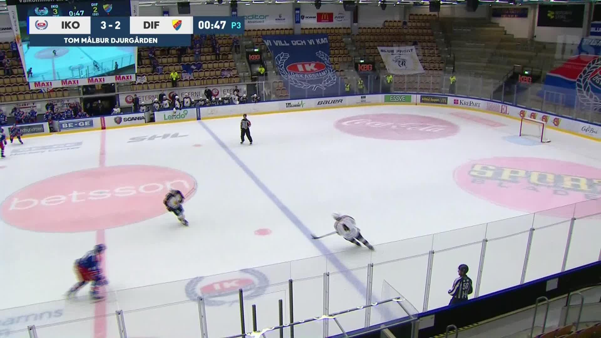 IK Oskarshamn - Djurgården Hockey 4-2