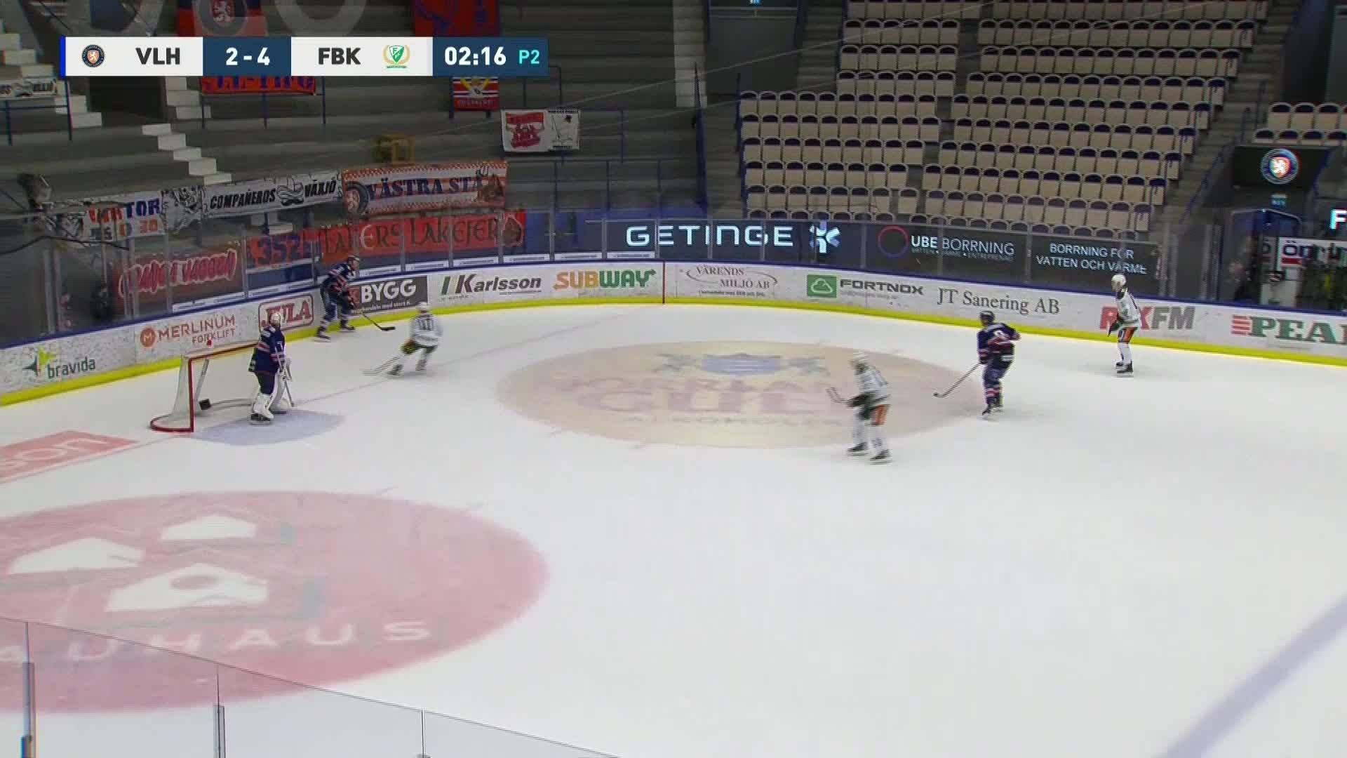 Växjö Lakers - Färjestad BK 2-5