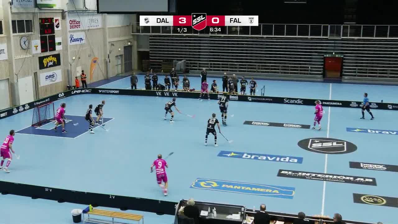 Highlights: IBK Dalen - IBF Falun
