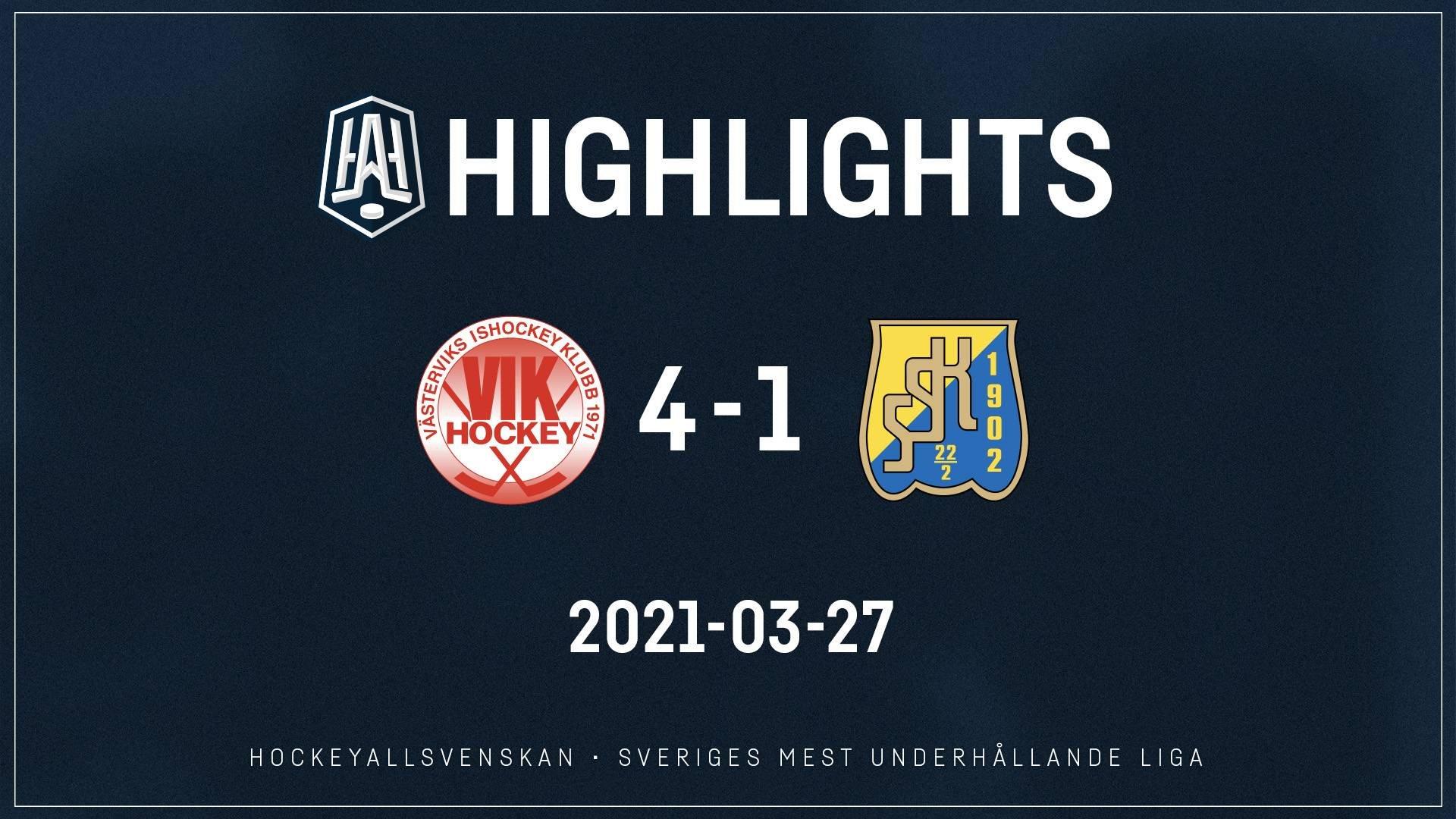 2021-03-27 Västervik - Södertälje 4-1