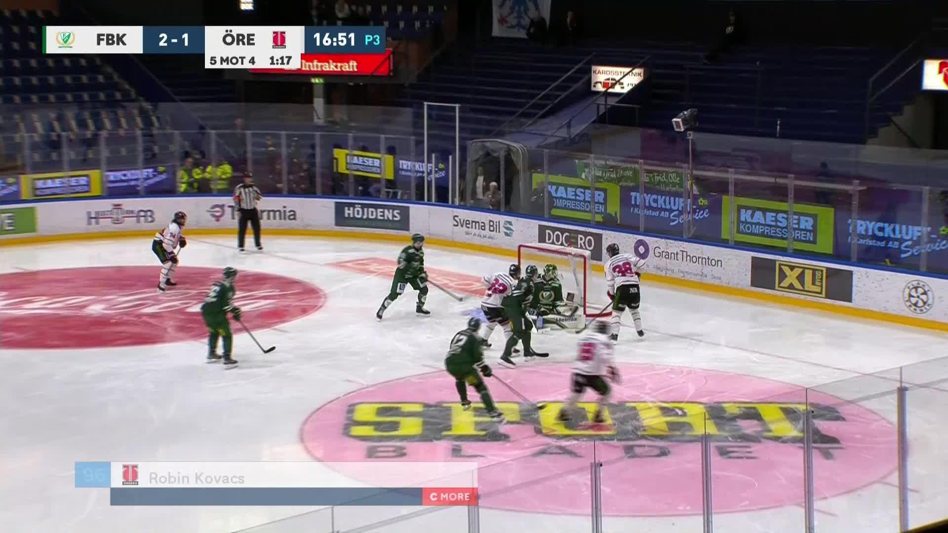 Färjestad BK - Örebro Hockey 2-2