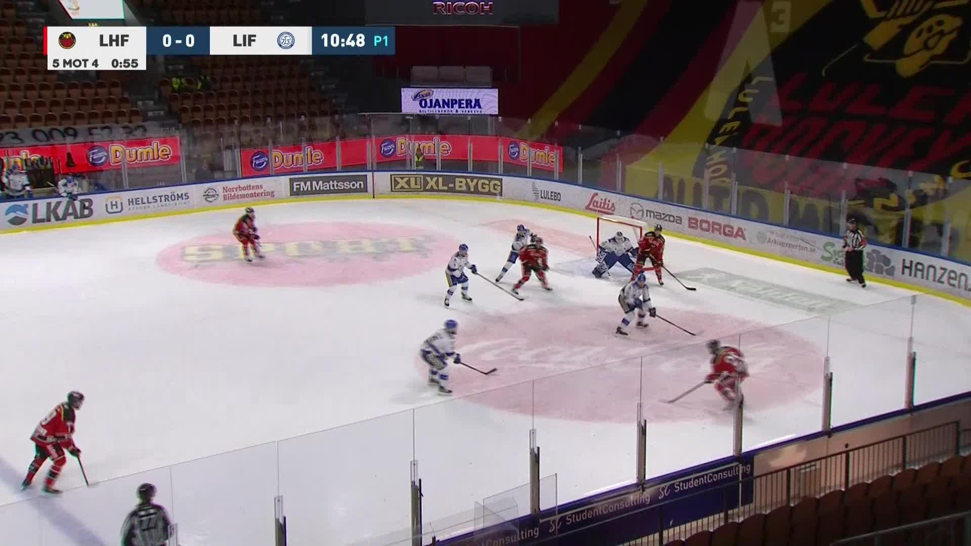 Luleå Hockey - Leksands IF 1-0