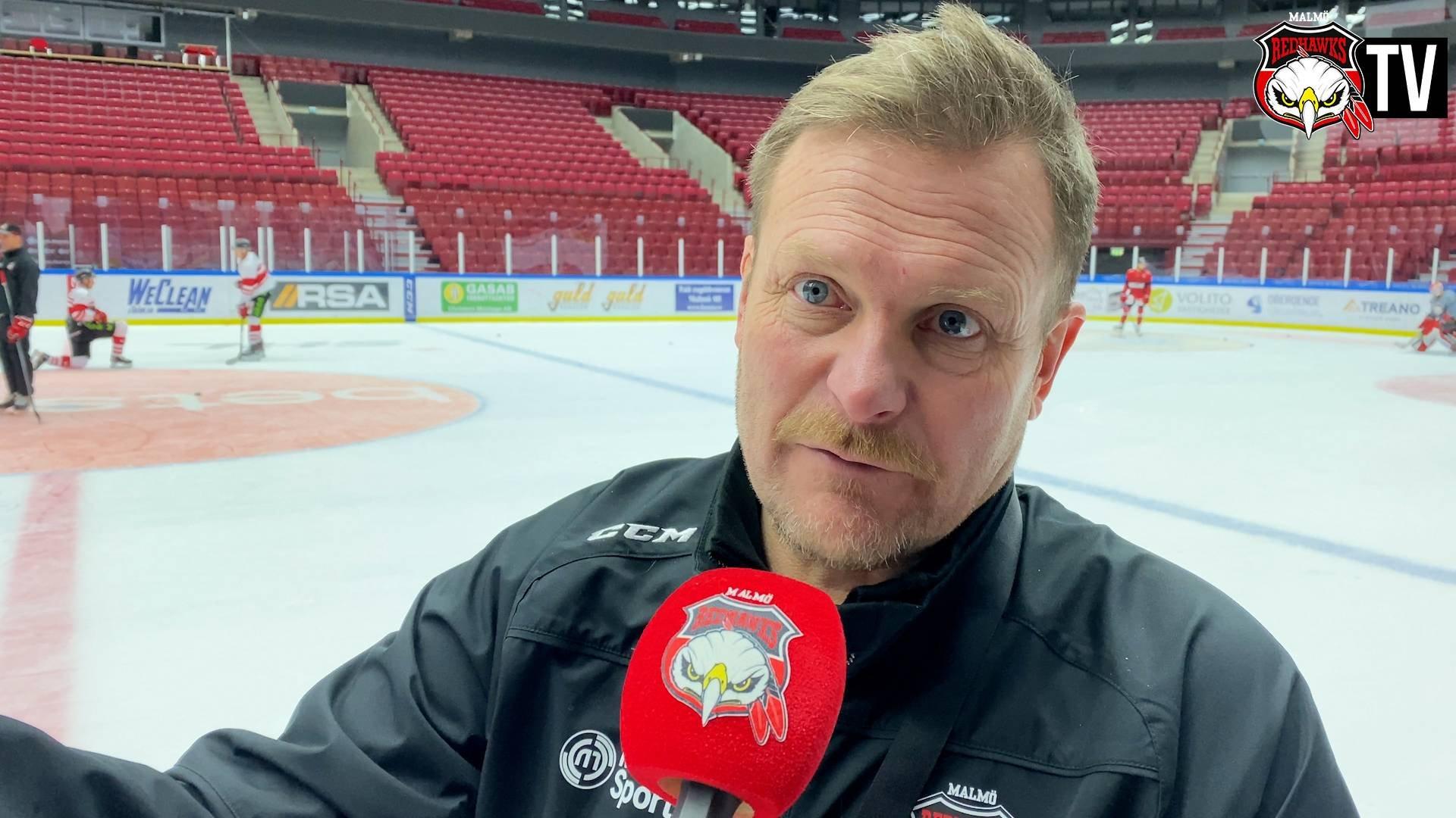 Fagervall inför hemmamötet med Linköping